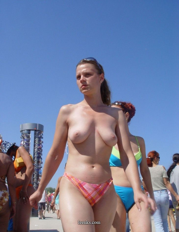 topless beach Saggy
