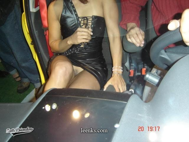 upskirt in cars
