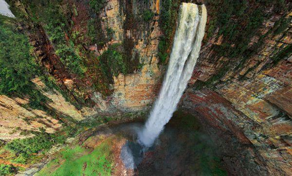 Angel Falls The Tallest Waterfall In The World