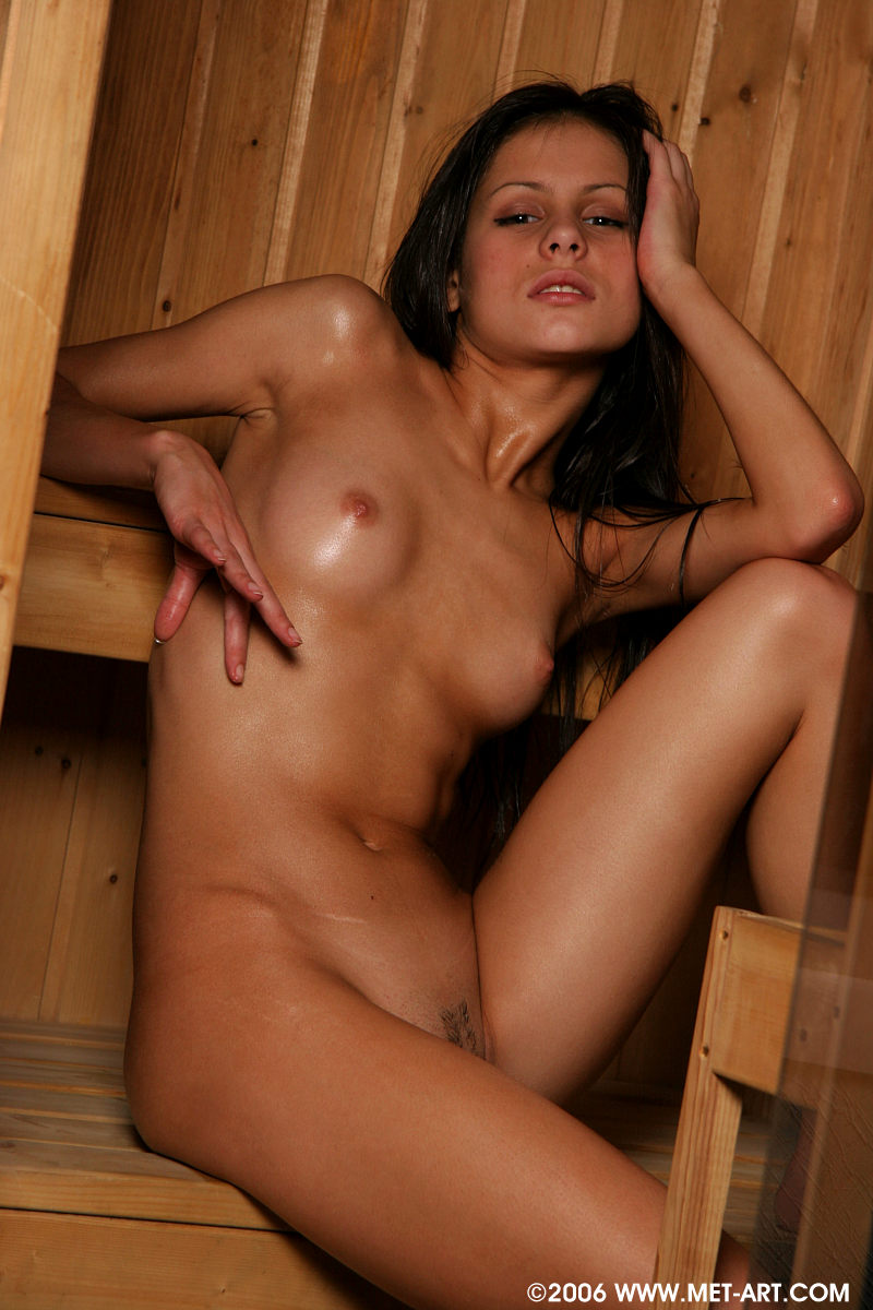 Girls sauna naked
